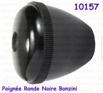 Poignée Ronde Noire Bonzini