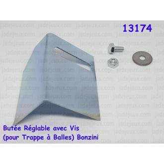 Butée Réglable avec Vis (pour Trappe à Balles) Bonzini