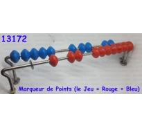 Marqueur de Points (le Jeu : Rouge + Bleu)