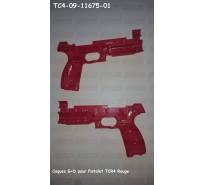Coques G+D pour Pistolet TCR4 Rouge