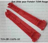 Gun Slide pour Pistolet TCR4 Rouge