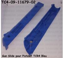 Gun Slide pour Pistolet TCR4 Bleu
