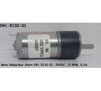 Moto-Réducteur Stern 041-5132-01, 24VDC, 13 RPM, 0,2A