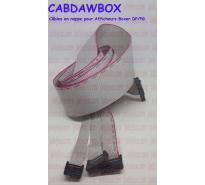 Câbles en nappe pour Afficheurs Boxer Dawpol