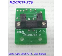 Carte Opto MOC70T4, Unis Games