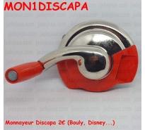 Monnayeur Discapa 2€ (Bouly, Disney...)