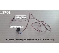 Kit Credits Gratuits pour Tables SAM (CPU 3 Blocs DIP)