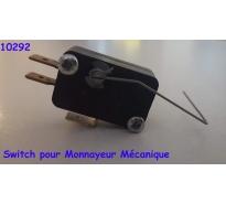 Switch pour Monnayeur Mécanique