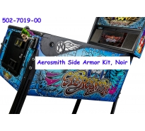 Aerosmith Side Armor Kit, Noir, 502-7019-00