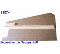 Séparation de Trappe, pour B60