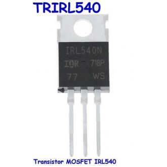 Transistor MOSFET IRL540