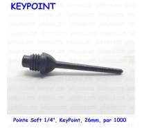 "Pointe Soft 1/4"", KeyPoint, 26mm,  par 1000"