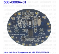 Carte Leds Pot d'Echappement SB, SB2 500-00004-01