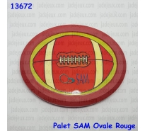 Palet SAM Ovale Rouge