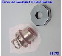 Ecrou de Coussinet 8 Pans Bonzini