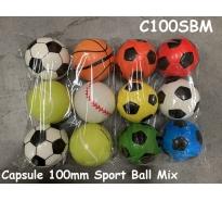 Capsule 100mm Sport Ball Mix par 300