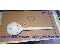 Bras Monobloc en Résine, Kicker DP/PG Ø 35 mm