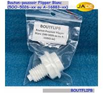 Bouton-poussoir Flipper Blanc (500-5026-xx ou A-16883-xx)