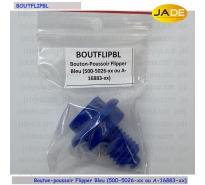 Bouton-poussoir Flipper Bleu (500-5026-xx ou A-16883-xx)